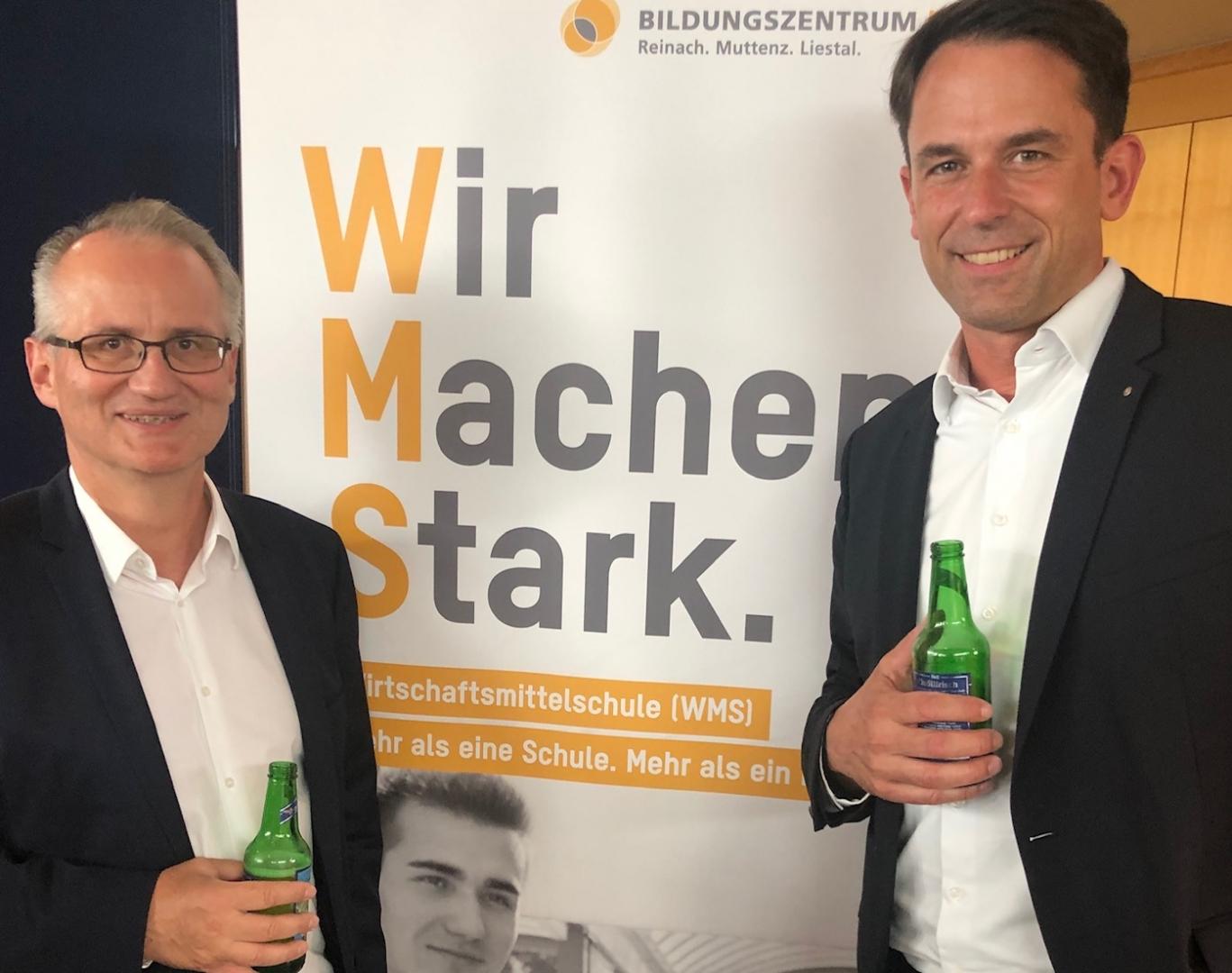 FDP-Fraktionspräsidium mit Dürr und Stückelberger